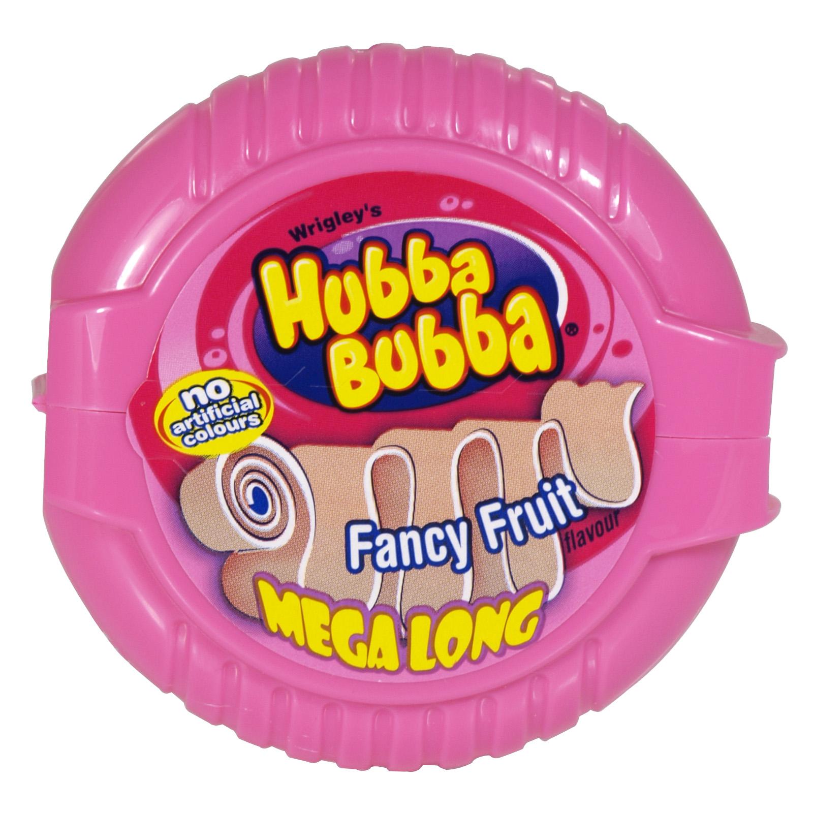 HUBBA BUBBA FANCY FRUIT TAPE 56GM X12