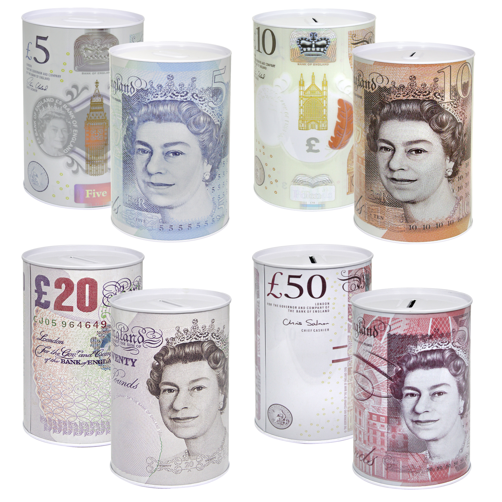 MONEY TIN STERLING JUMBO