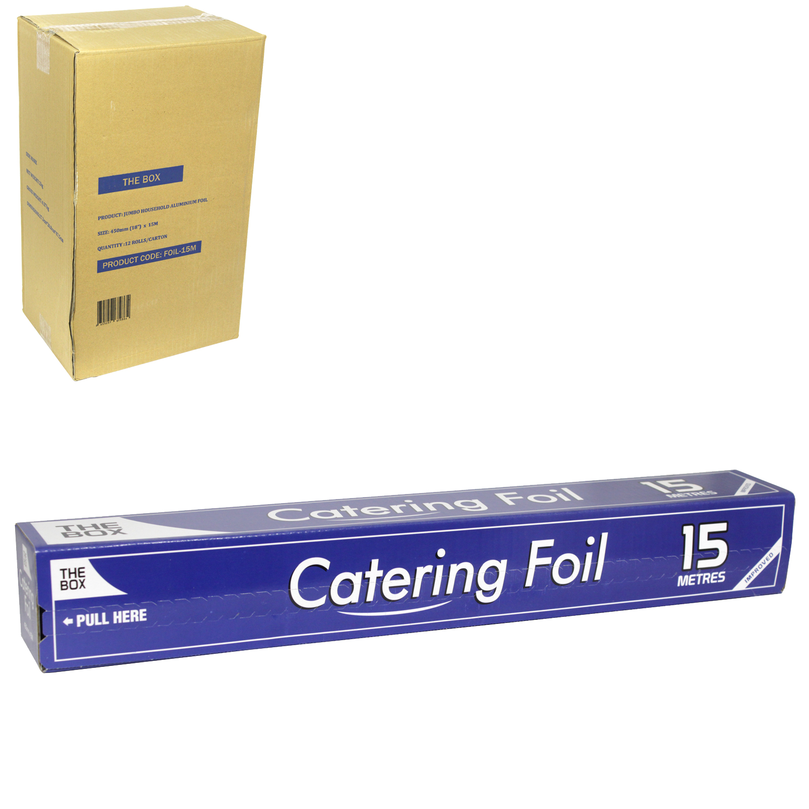 CHEFS CHOICE CATERING FOIL 450MMX15M X12