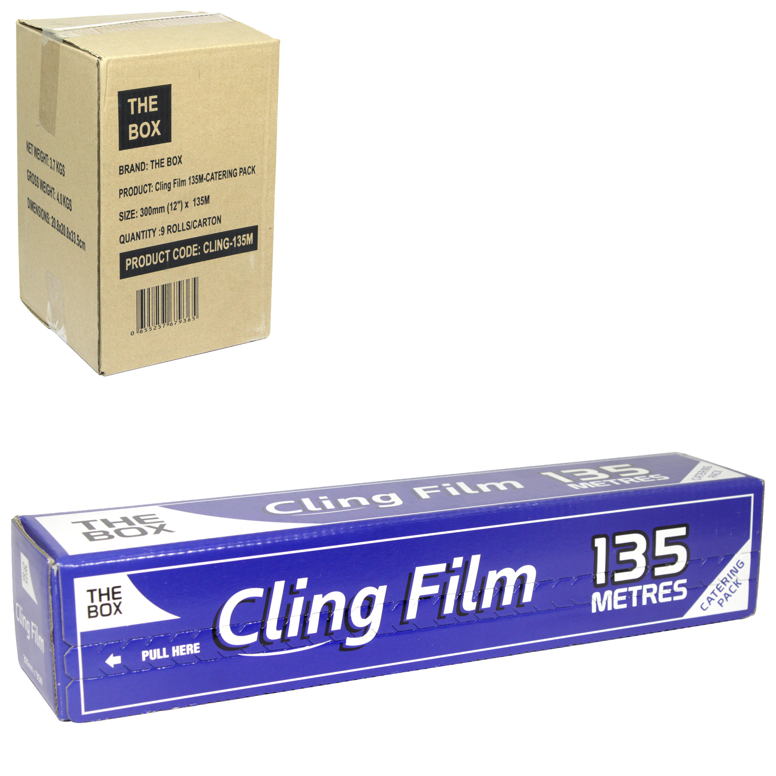 CATERING CLING FILM 300MMX135M  X9