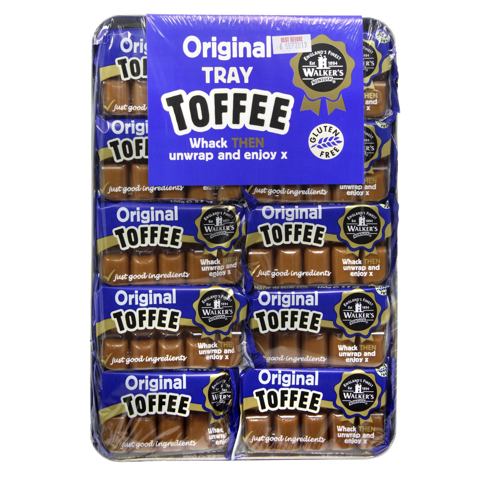 WALKERS TRAY TOFFEE ORIGINAL X10