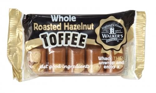 WALKERS TRAY TOFFEE ROASTED HAZELNUT X10