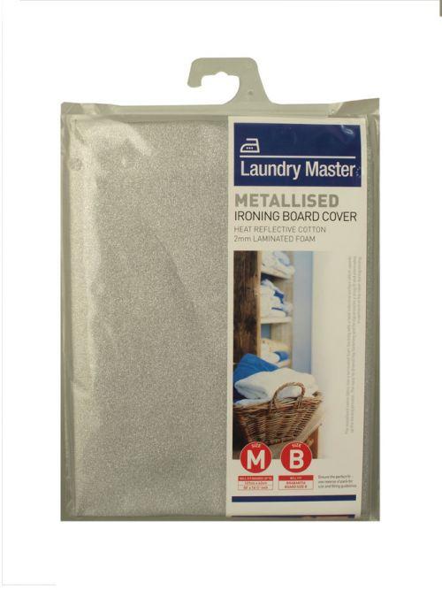 LAUNDRY MASTER METALLISED 127X42CM MEDIUM