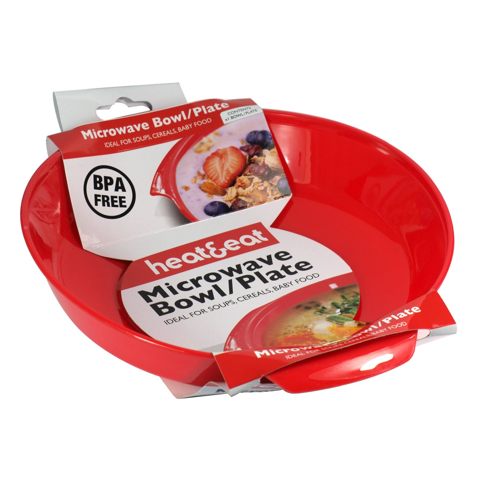 HEAT+EAT MICROWAVE BOWL/PLATE