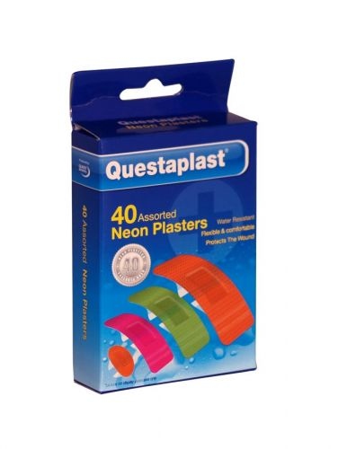 QUESTAPLAST 40 NEON PLASTERS ASS X12