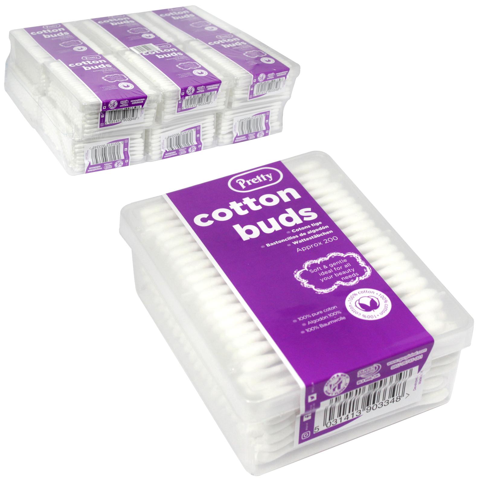 PRETTY COTTON BUDS 200S BOX X12