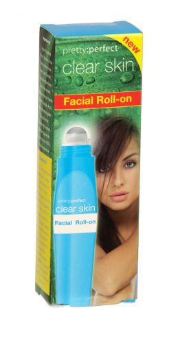 PRETTY PERFECTLY CLEAR SKIN FACIAL ROLL-ON X12