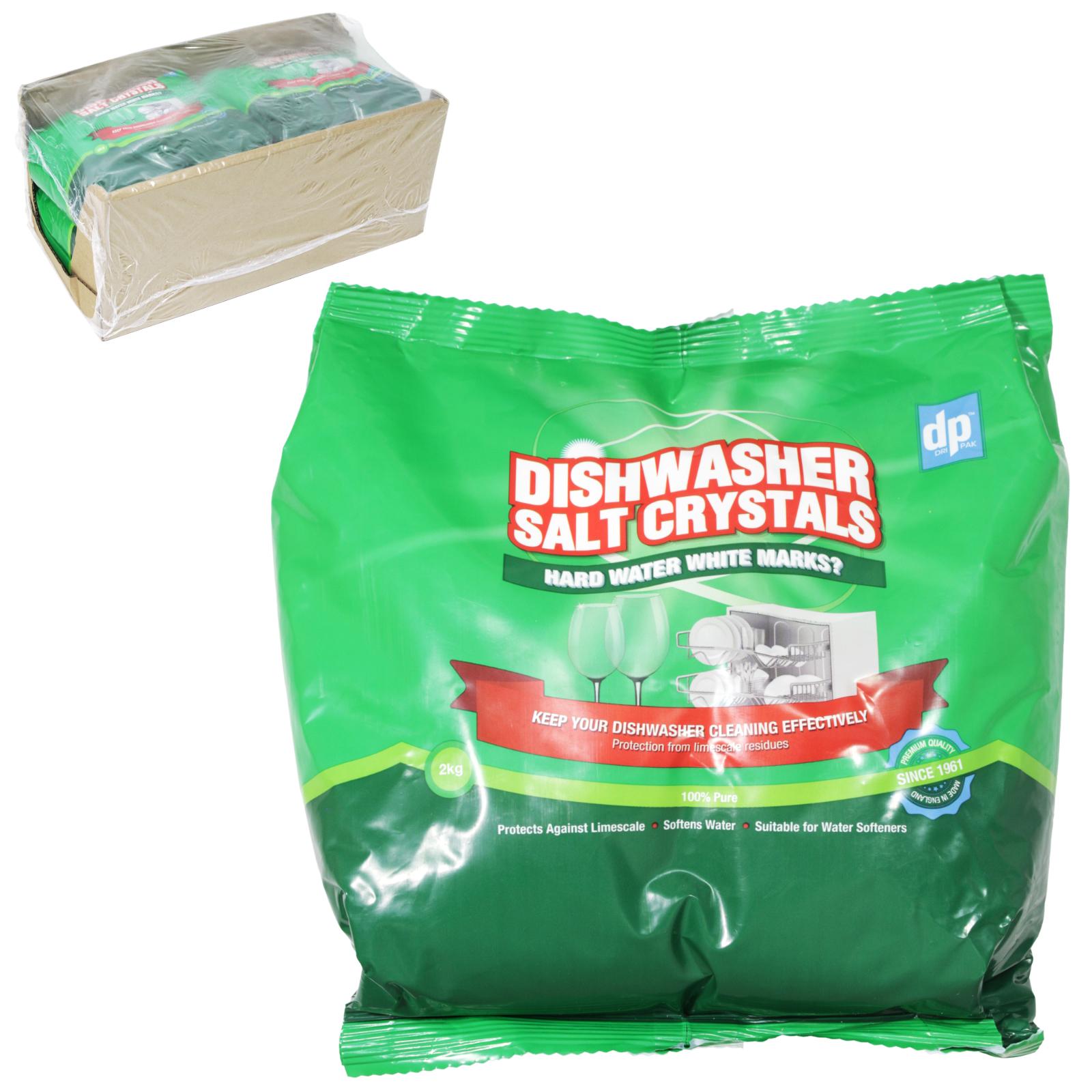 OPAL DISHWASHER SALT 2 KILO BAG X6