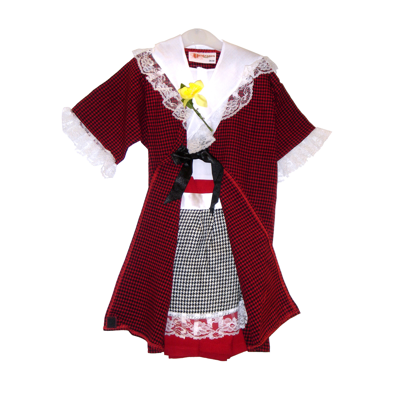 ST DAVIDS DAY WELSH COSTUME 7/8