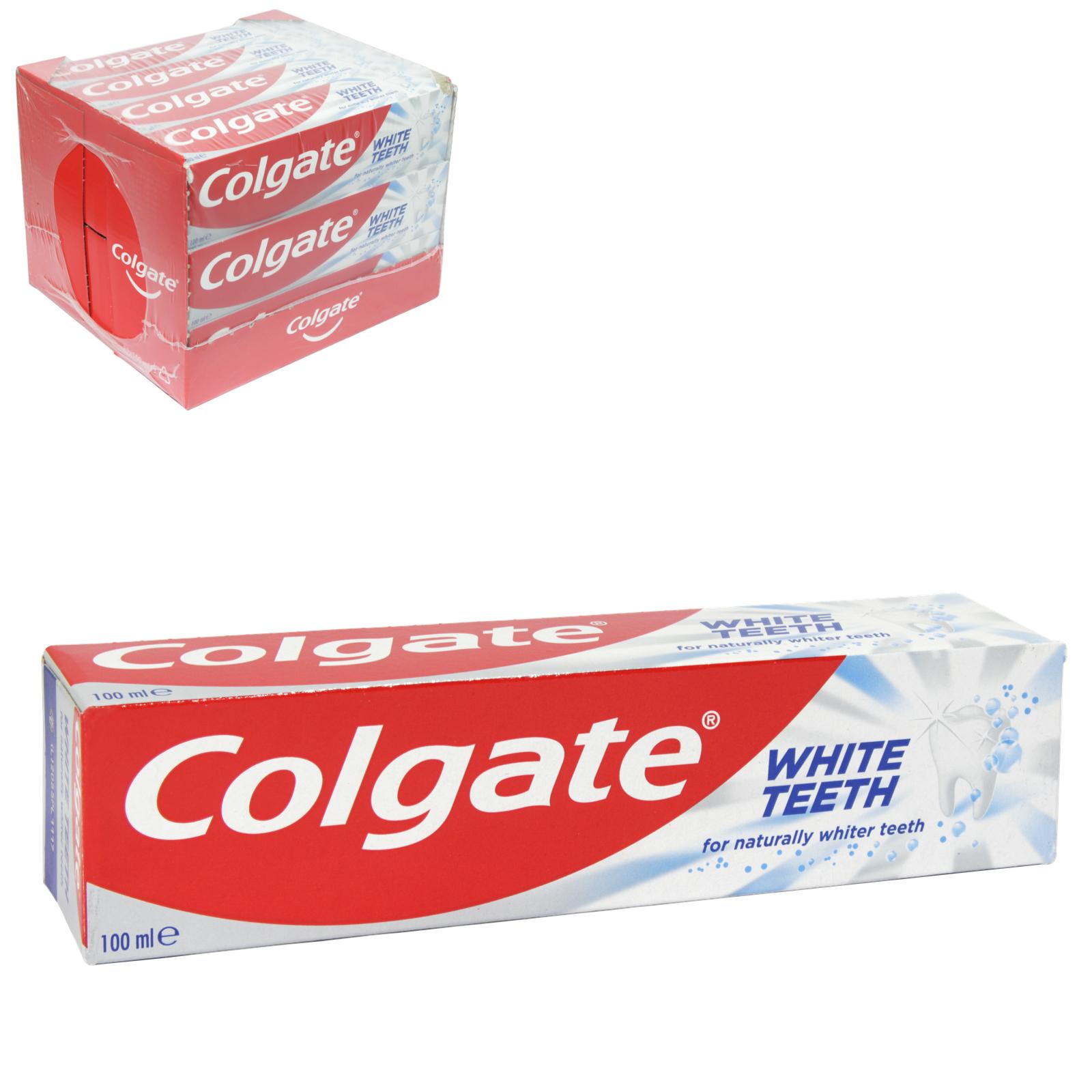 COLGATE TOOTHPASTE 100ML WHITENING X12