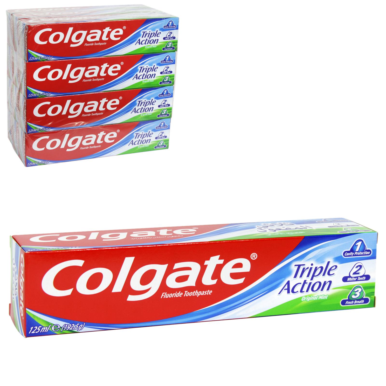 COLGATE TOOTHPASTE 100ML TRIPLE ACTION X12
