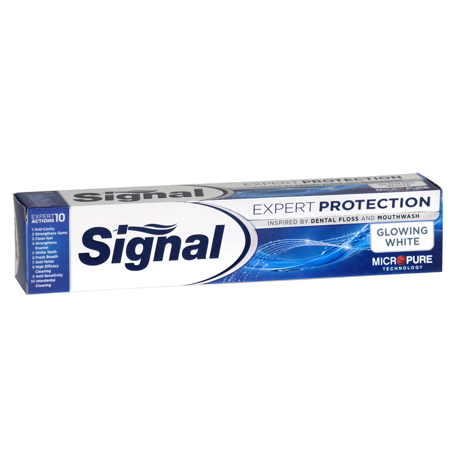 SIGNAL TOOTHPASTE 75ML EXPERT PROTECTION GLOWING WHITE X24