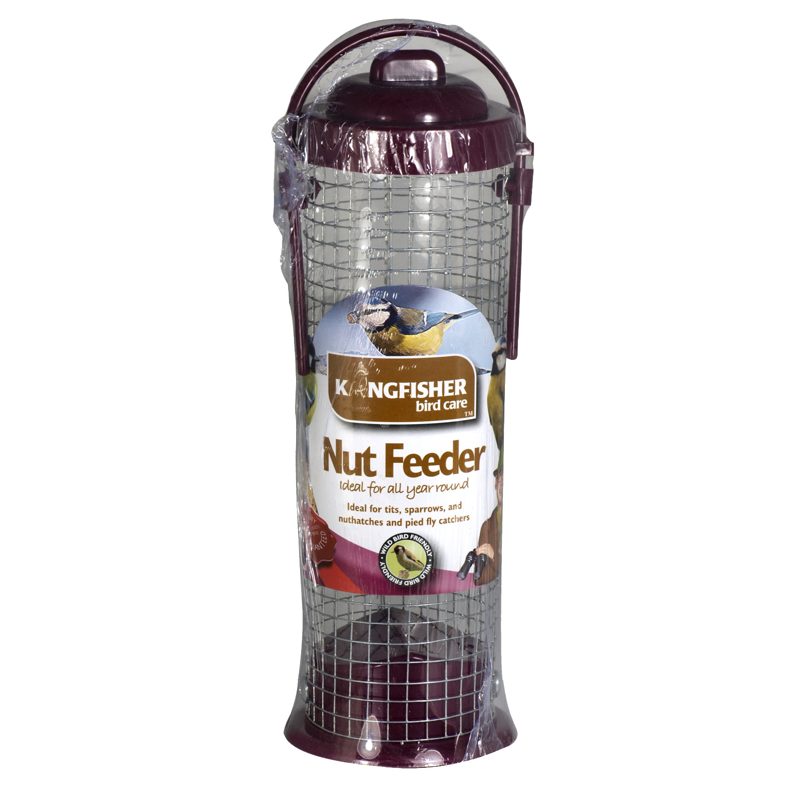 KINGFISHER NUT FEEDER STANDARD