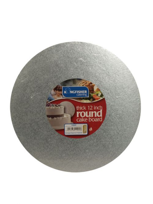KINGFISHER 12 THICK ROUND CAKEBOARD
