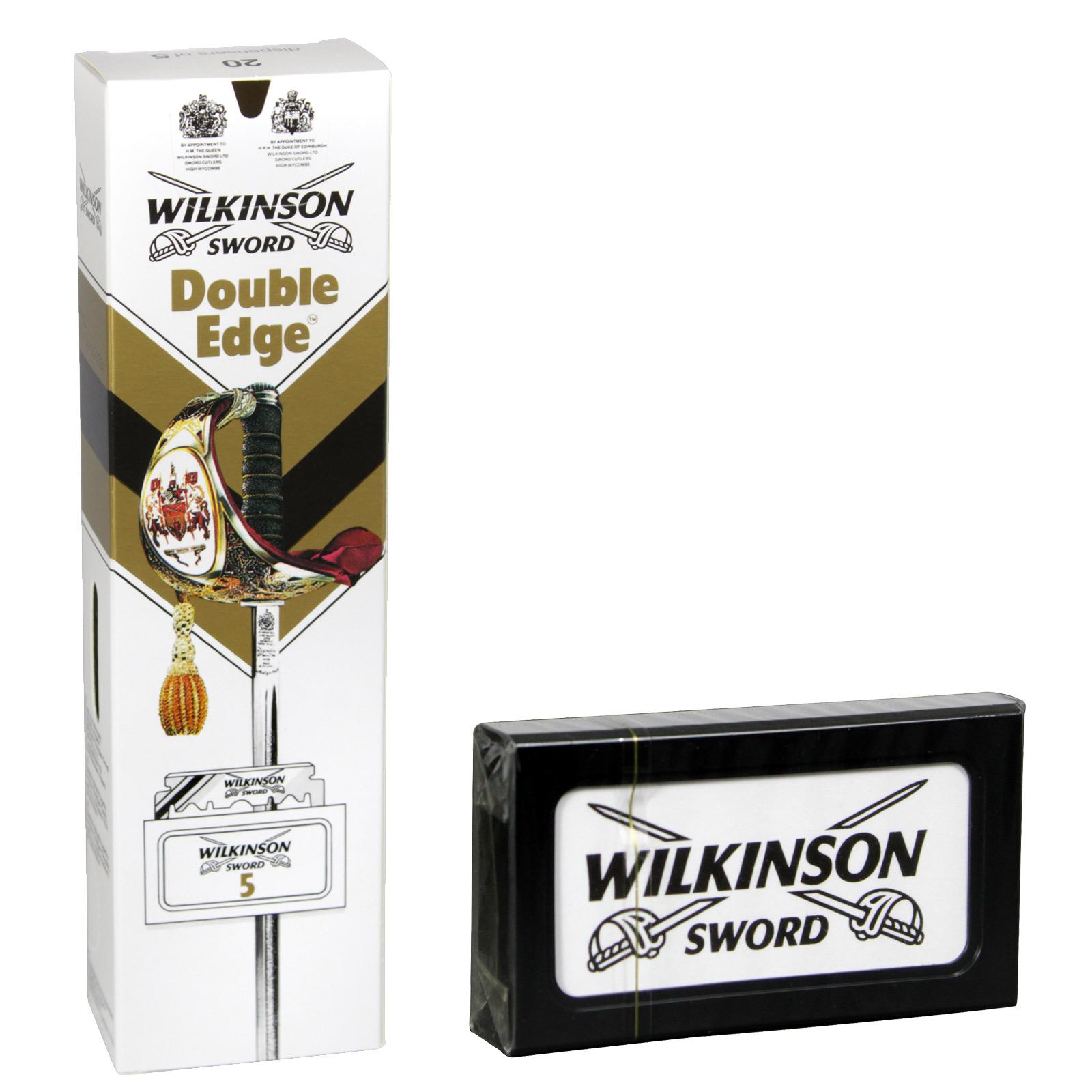 WILKINSON DOUBLE EDGE BLADE 5S 1.99 X20