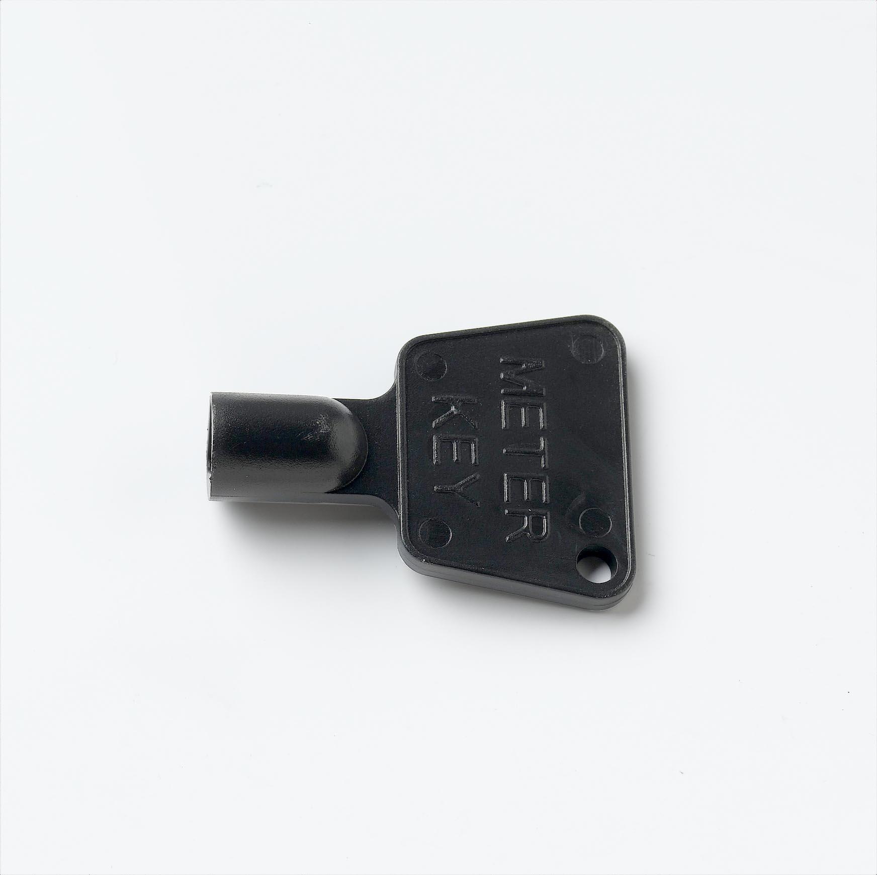 STARPACK METER BOX KEY BLACK PLASTIC QTY:2