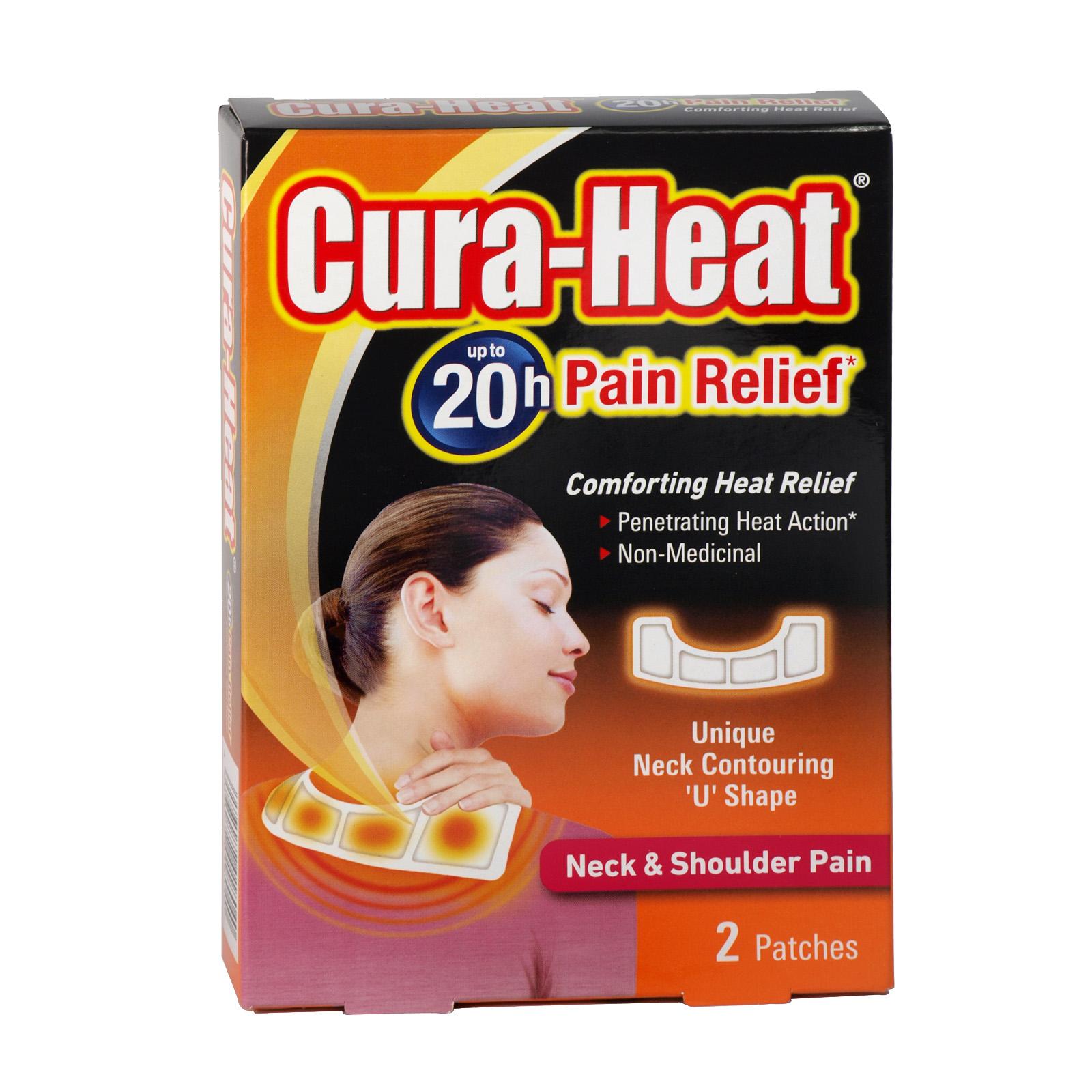 CURA-HEAT NECK+SHOULDER PAIN 2PATCHES X6