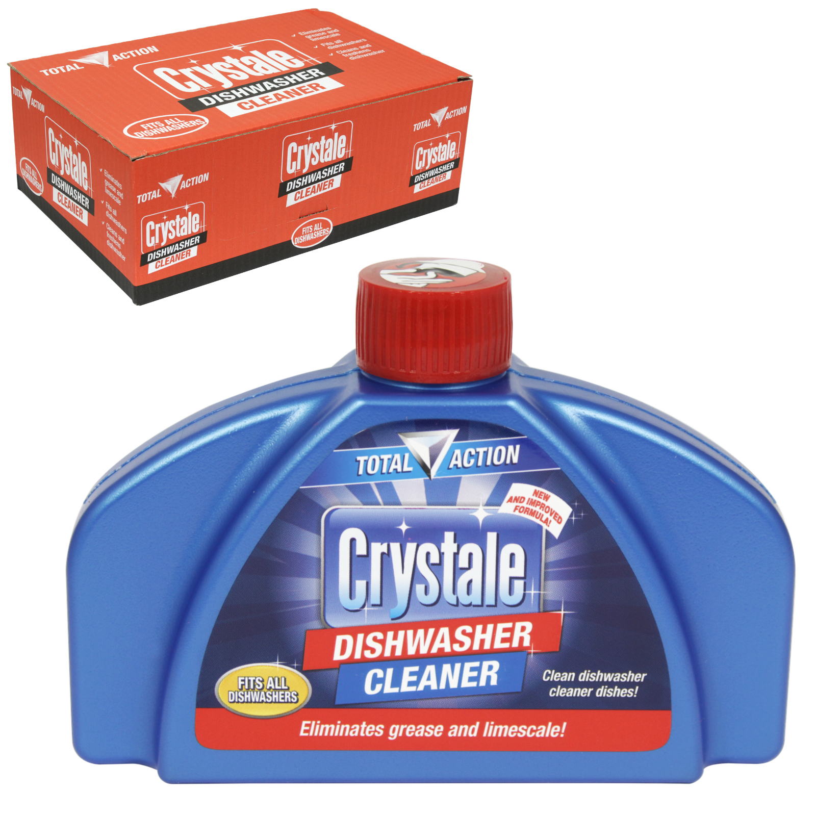 CRYSTALE DISHWASHER CLEANER 250ML X10