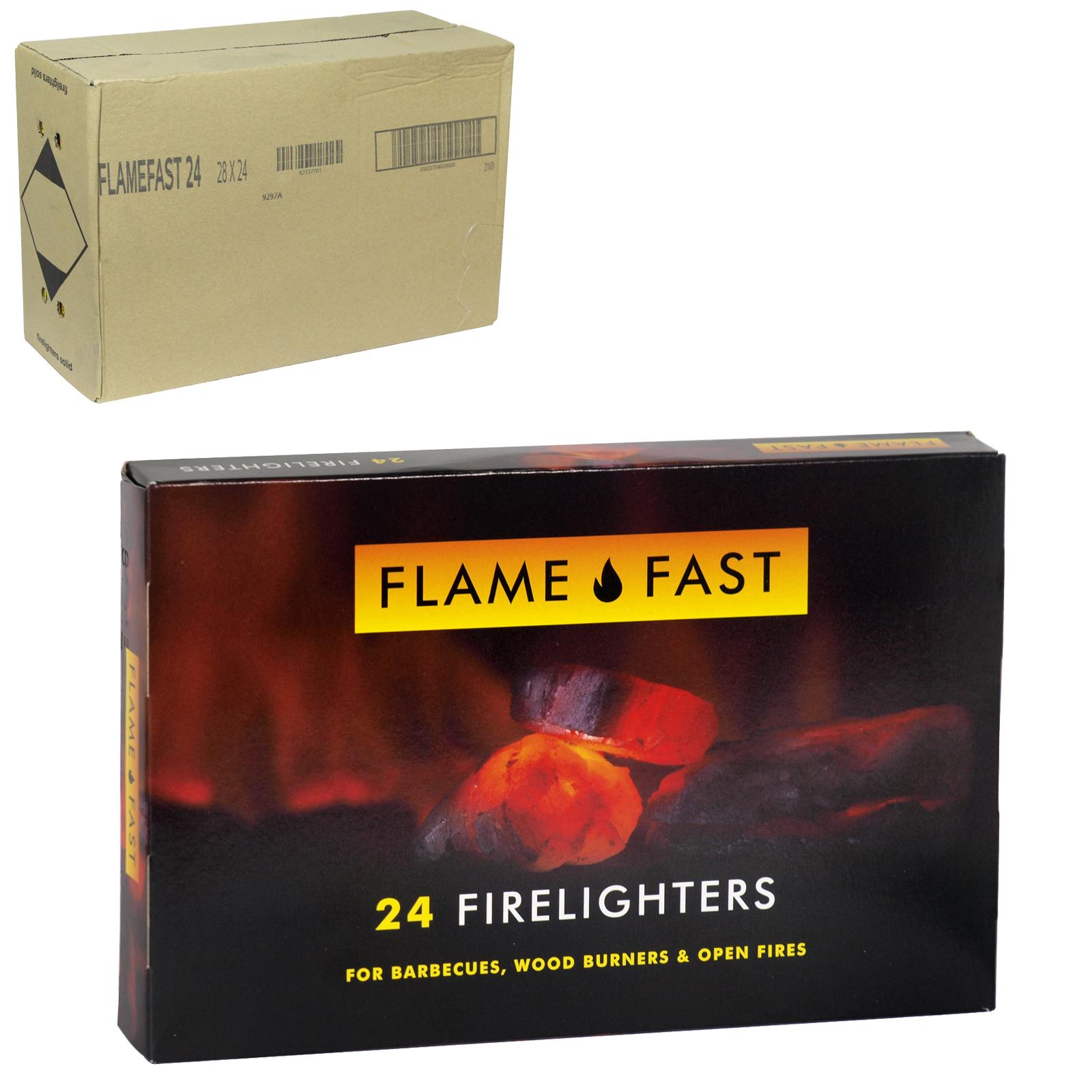 FLAMEFAST FIRELIGHTERS 24S X28