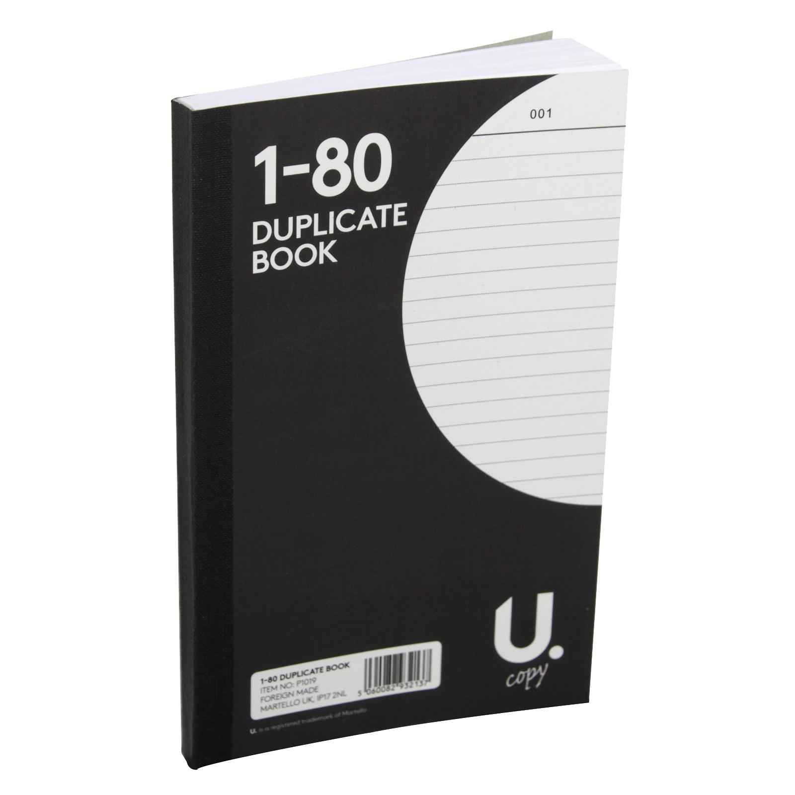 PENNINE DUPLICATE BOOK 1-80 X12