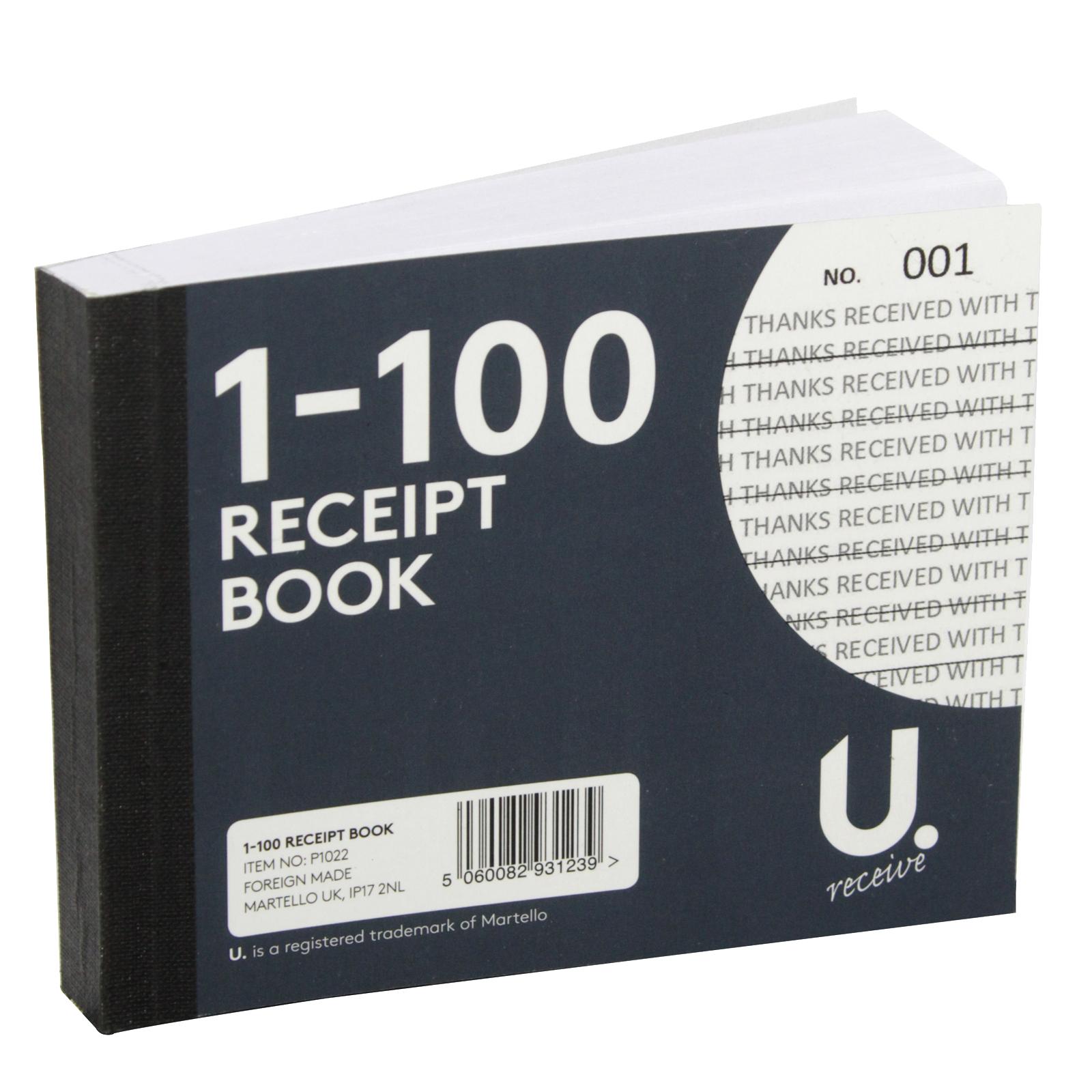 PENNINE RECEIPT BOOK 1-100 X12