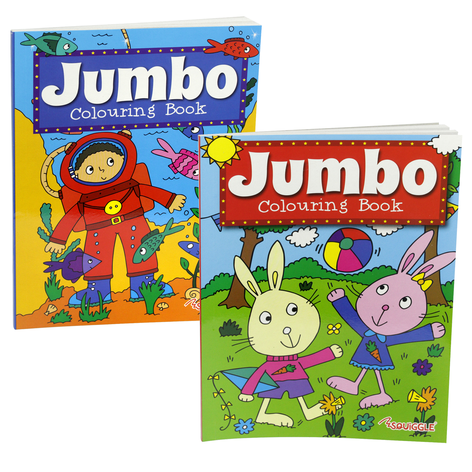 PENNINE KIDS JUMBO COLOURING BOOK 2A X6
