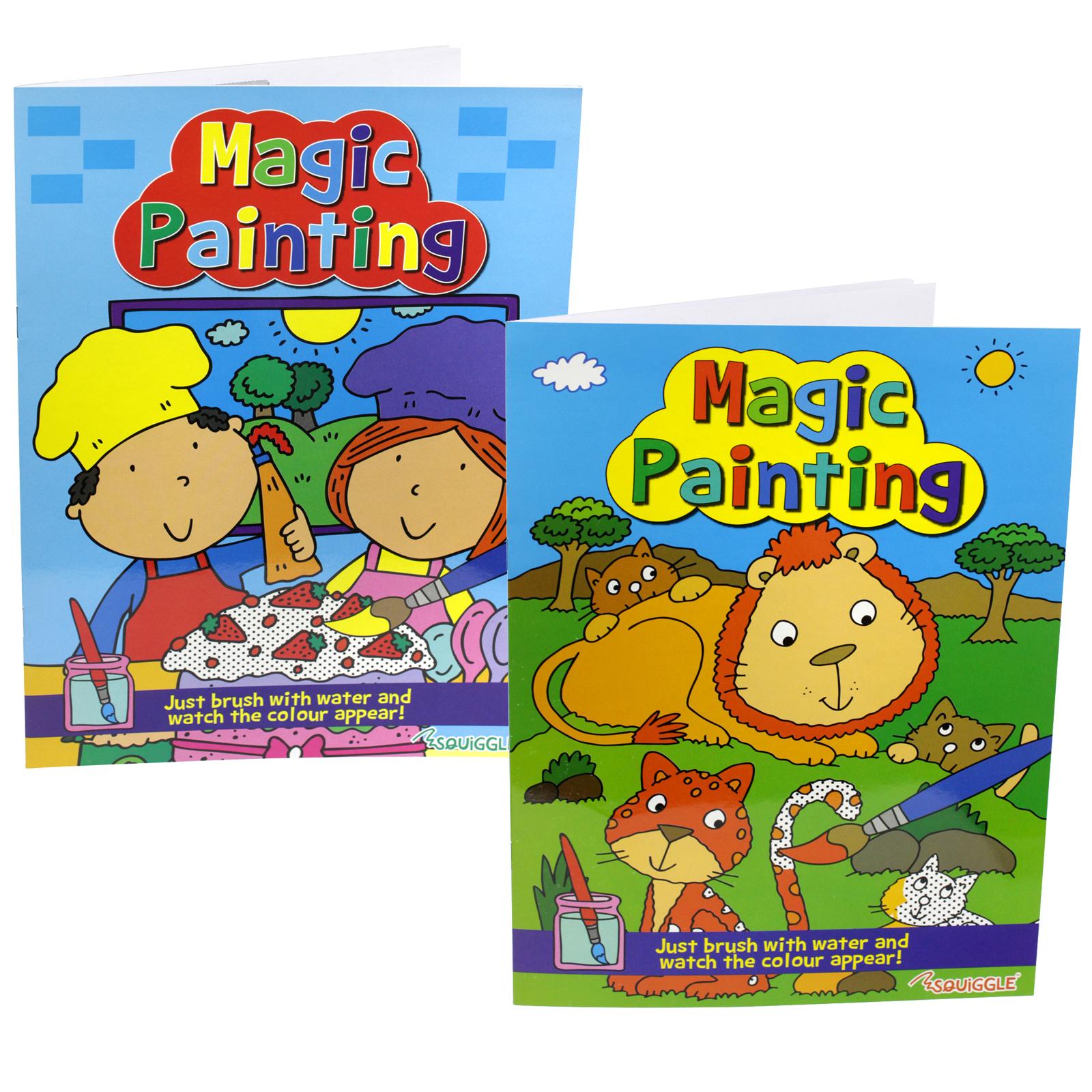 PENNINE KIDS MAGIC PAINTING BOOK 1+2 X12