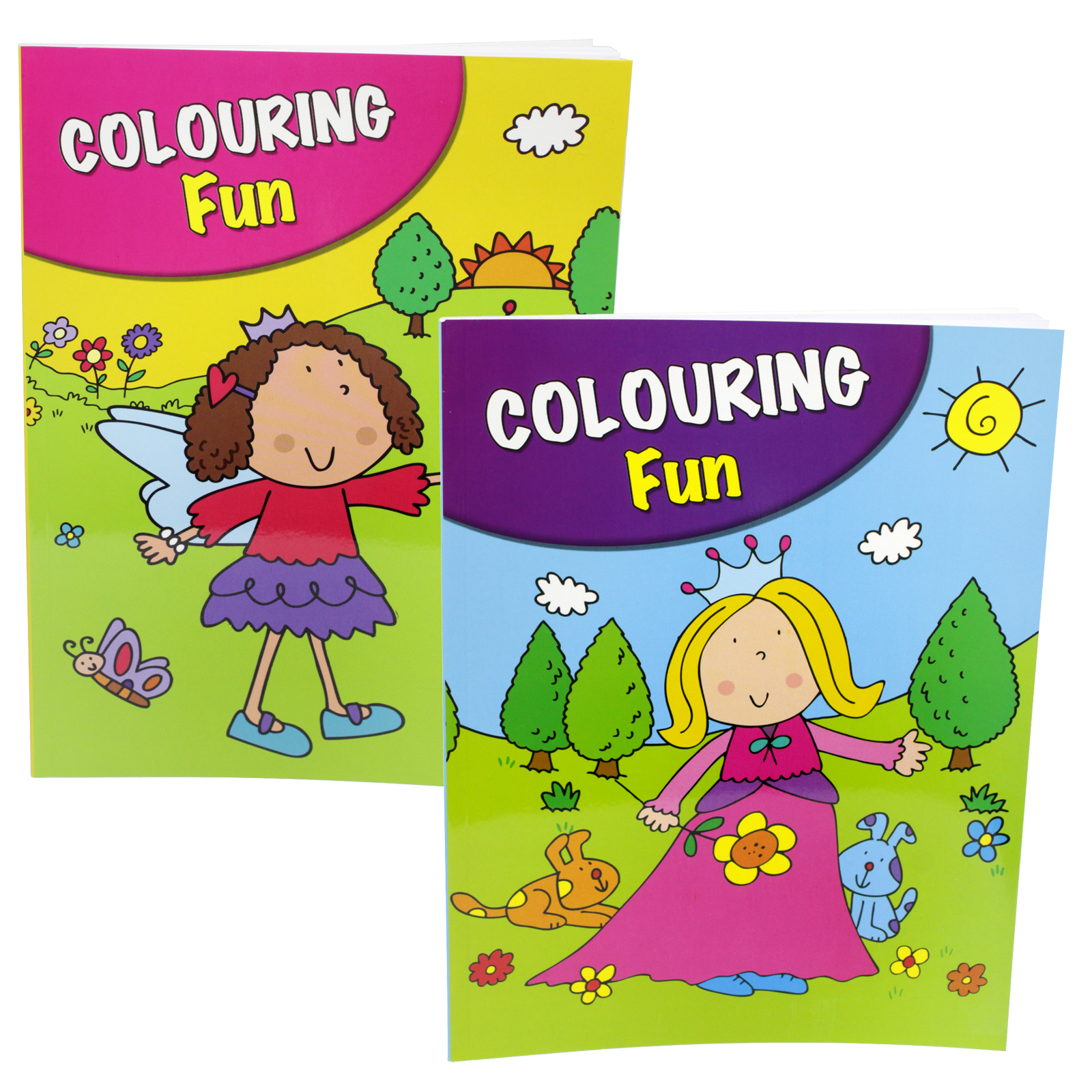 PENNINE KIDS COLOURING FUN BOOK 3+4 X6
