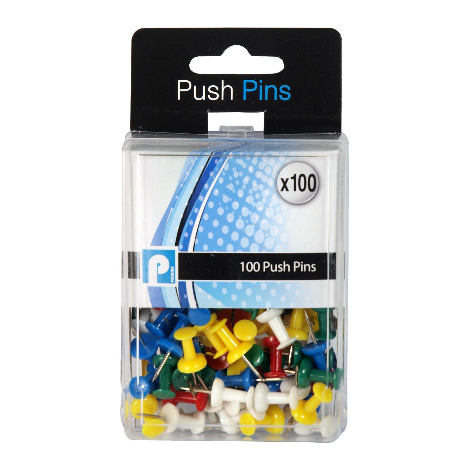 PENNINE 100 PUSH PINS X12