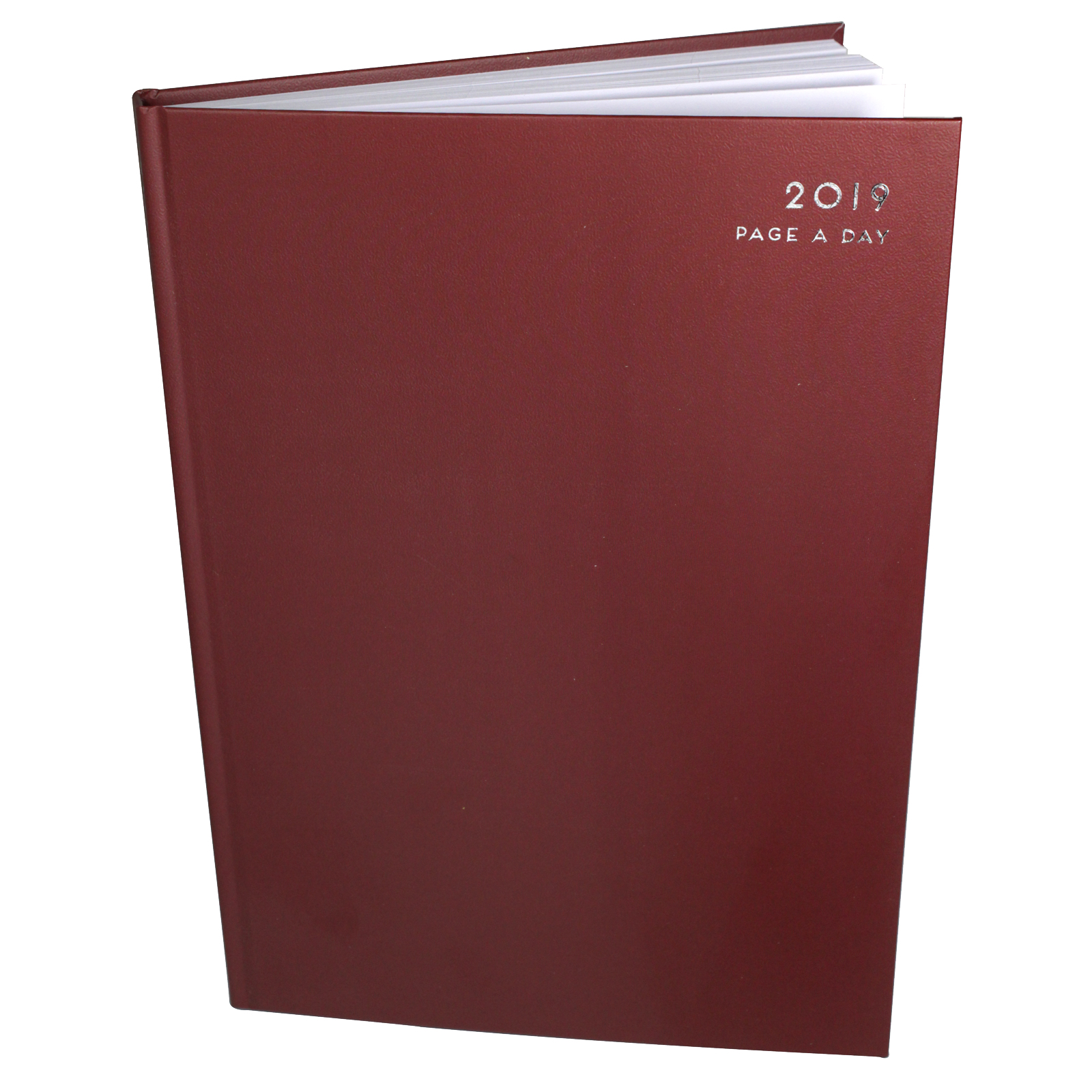 2019 DIARY HARDBACK A4 PAGE A DAY
