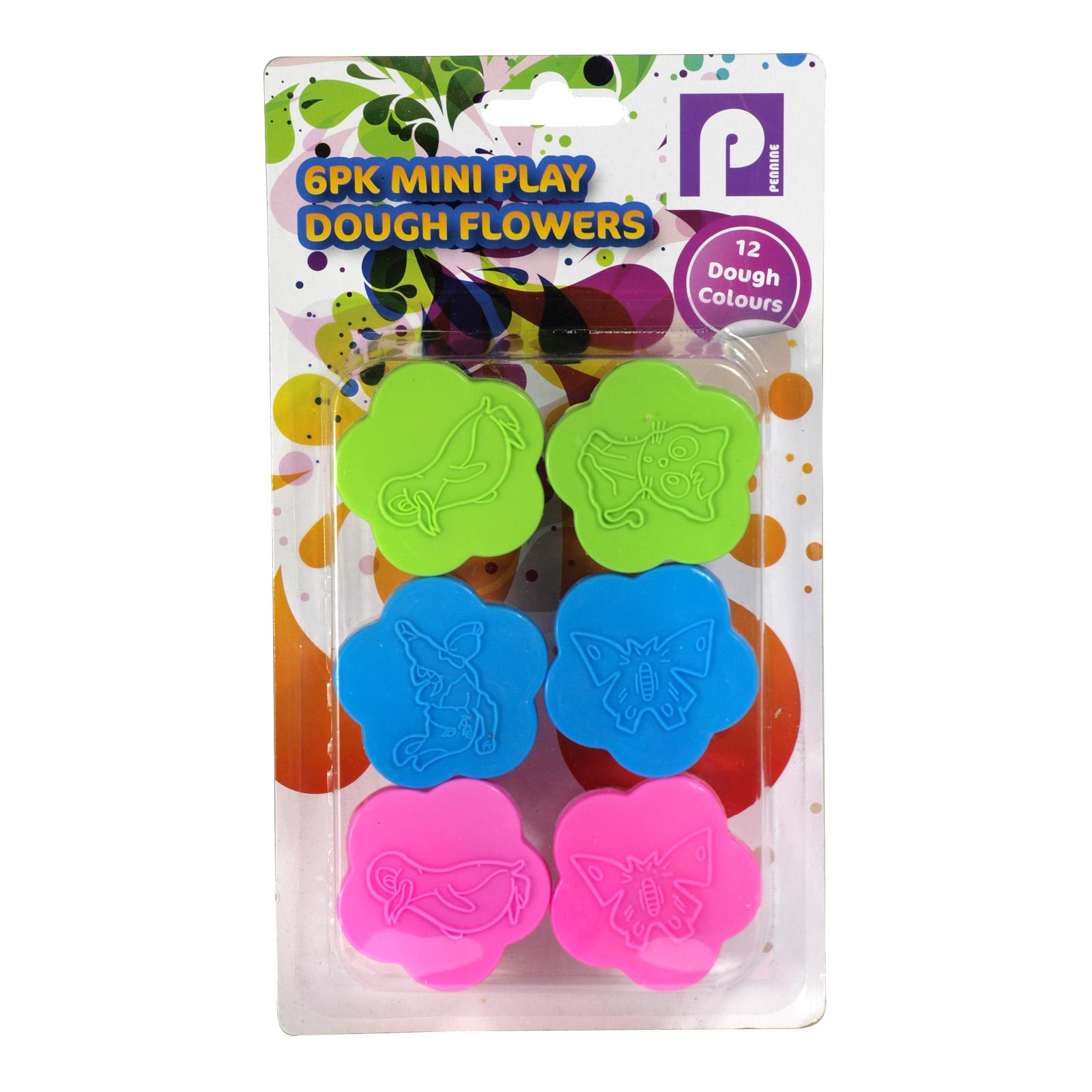 PENNINE KIDS FLOWERS PLAY DOUGH SET X12