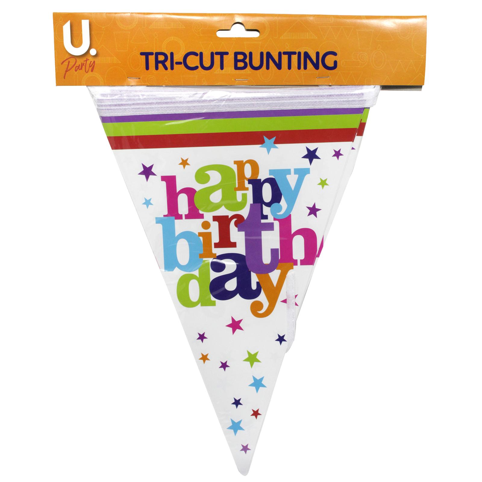 HAPPY BIRTHDAY PARTY BUNTING