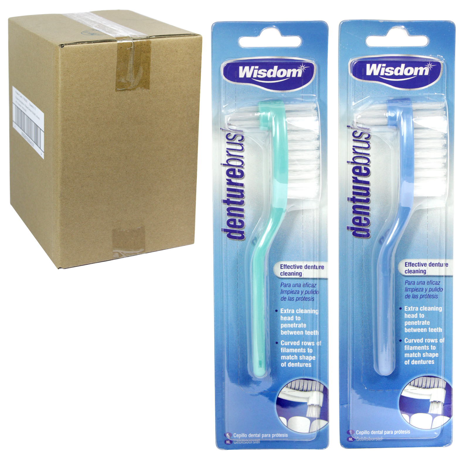 WISDOM DENTURE TOOTHBRUSHES RSP ?1.59 X12