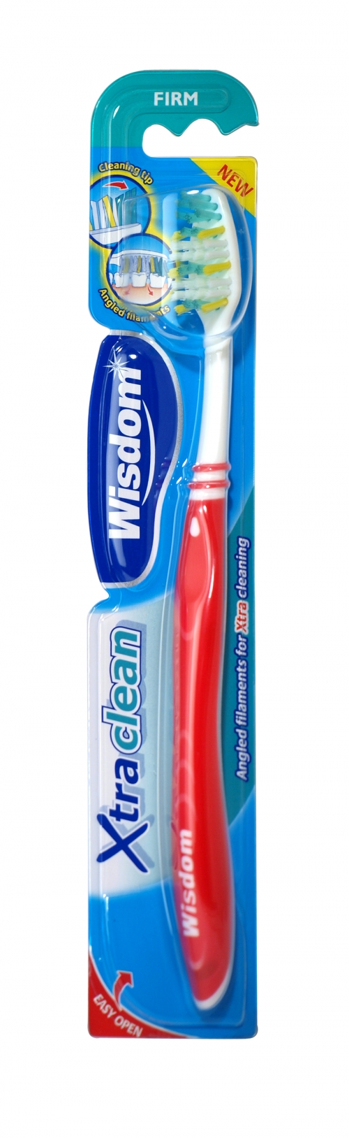 WISDOM XTRA CLEAN TOOTHBRUSHES FIRM X12