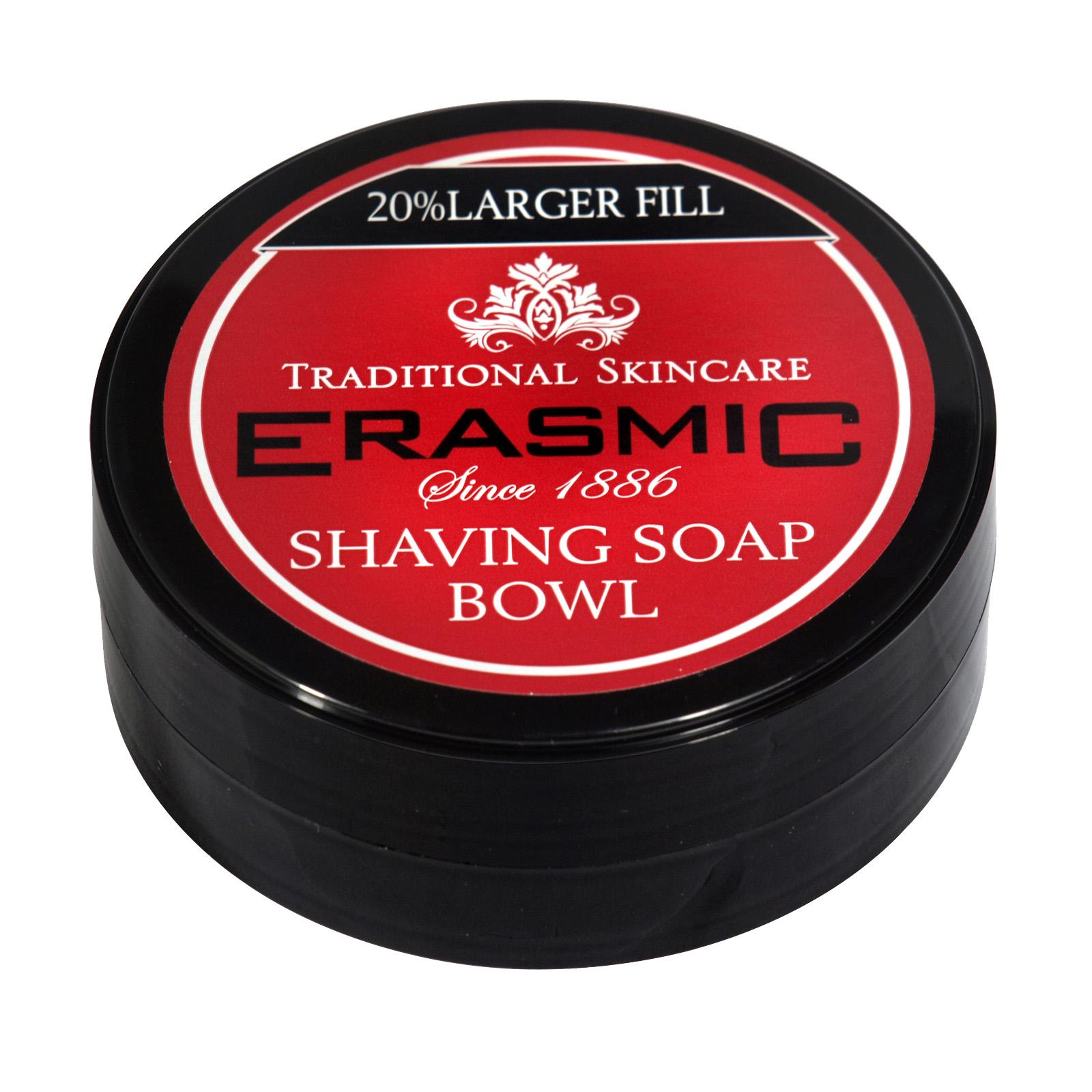 ERASMIC SHAVE SOAP 90GM BOWL ORIG X6