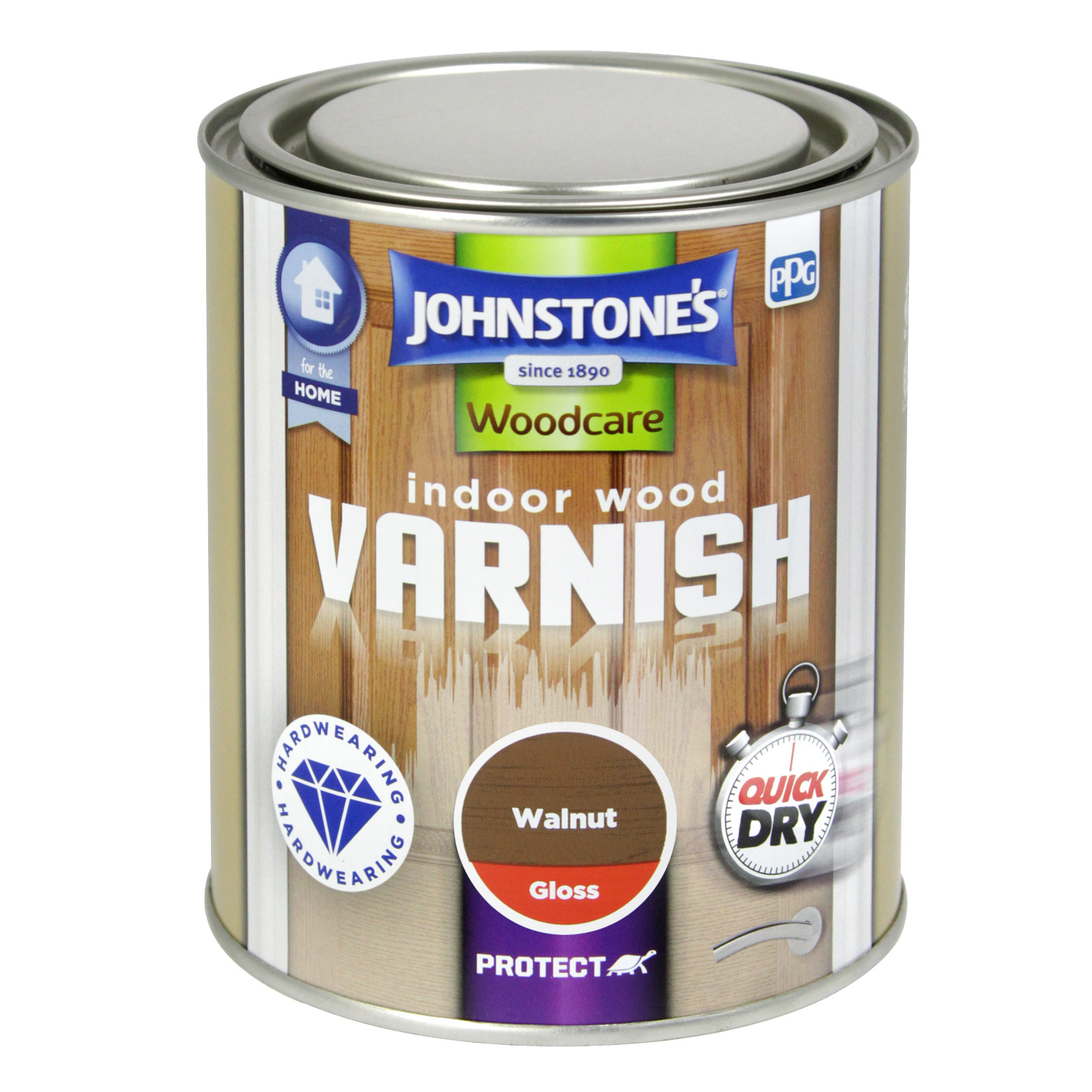 INDOOR VARNISH GLS 750ML WALNUT