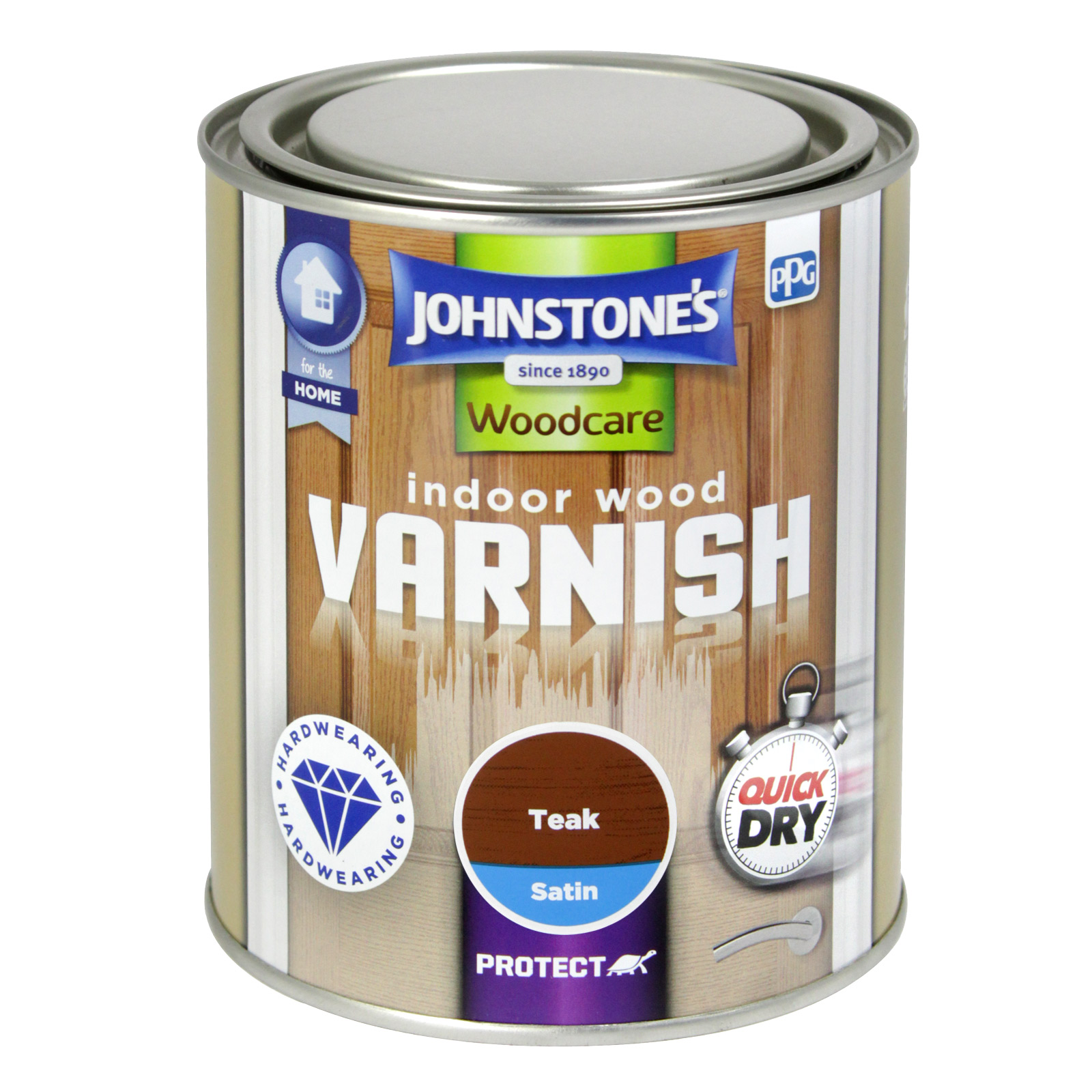 INDOOR VARNISH 750ML SATIN TEAK