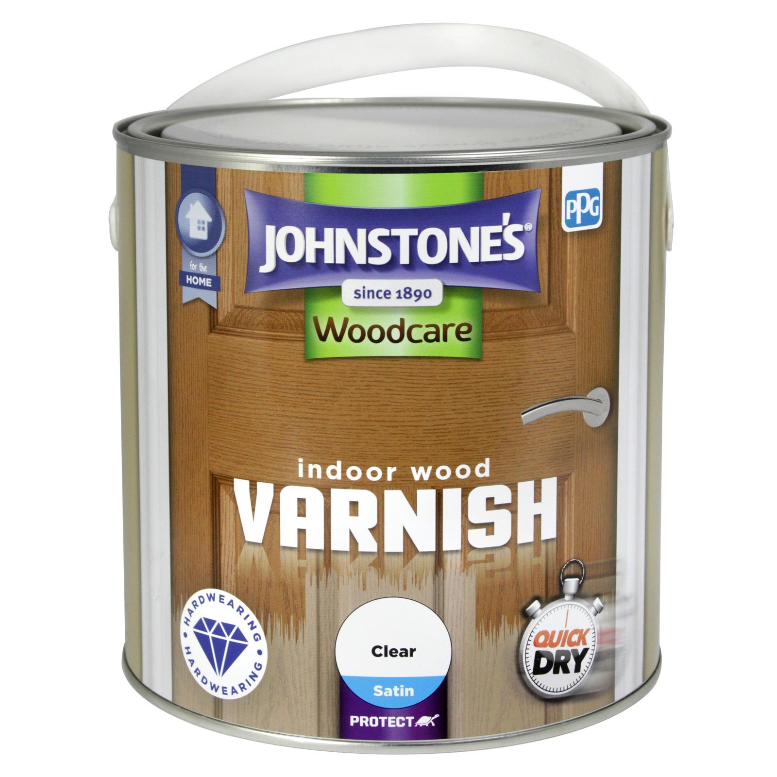 INDOOR VARNISH 2.5L SATIN CLEAR