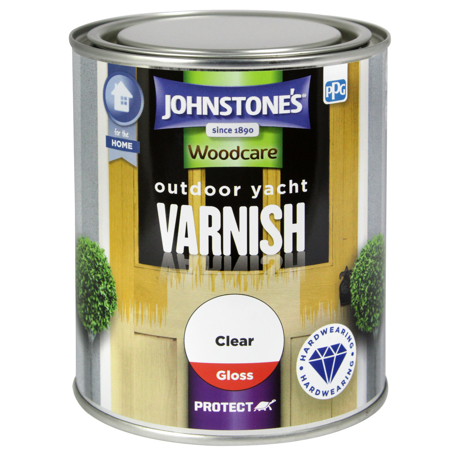 OUTDOOR YACHT VARNISH 750ML CLEAR