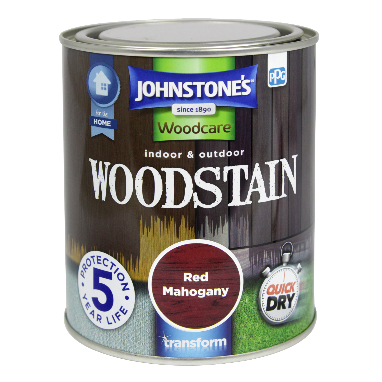 WOODSTAIN 750ML RED MAHOGANY