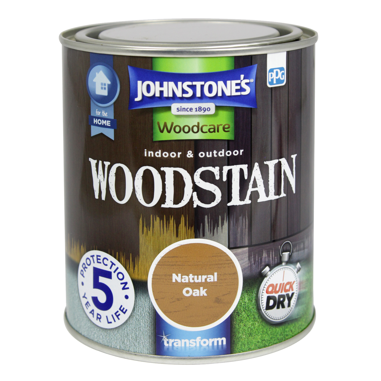 WOODSTAIN 750ML NATURAL OAK