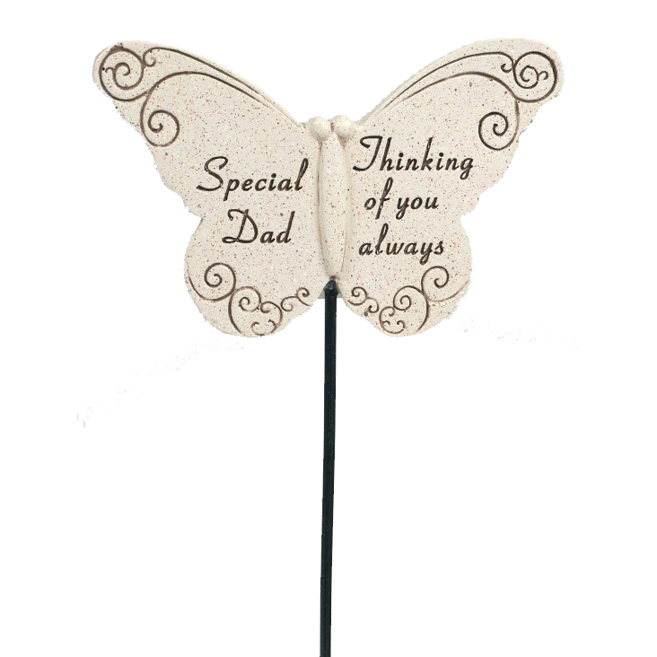 BUTTERFLY STICK SPECIAL DAD 31X10CM