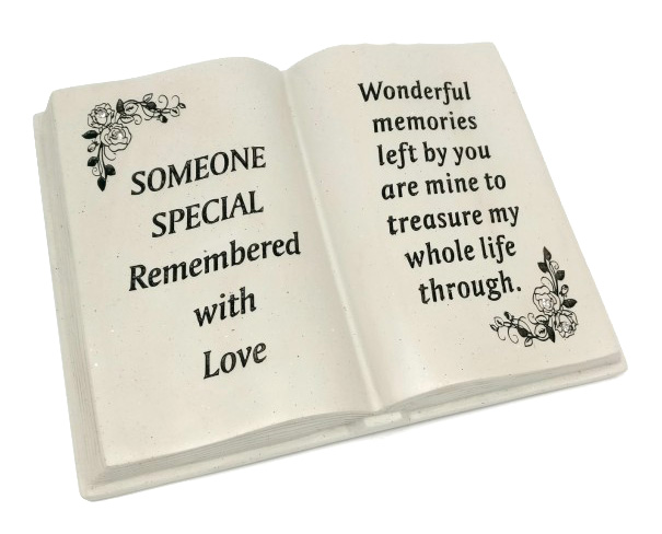 SS MEMORIAL BOOK FLORAL DESIGN