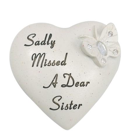SISTER DIAMANTE BUTTERFLY HEART 9.5X9CM
