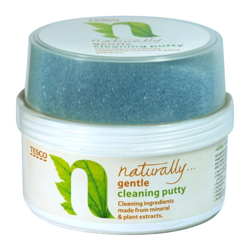 TESCO NATURALLY CLEANING PUTTY 400GM X12