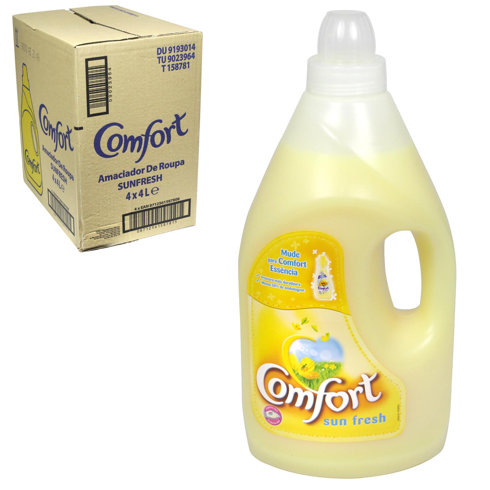 COMFORT FAB CON 4L SUNFRESH X4