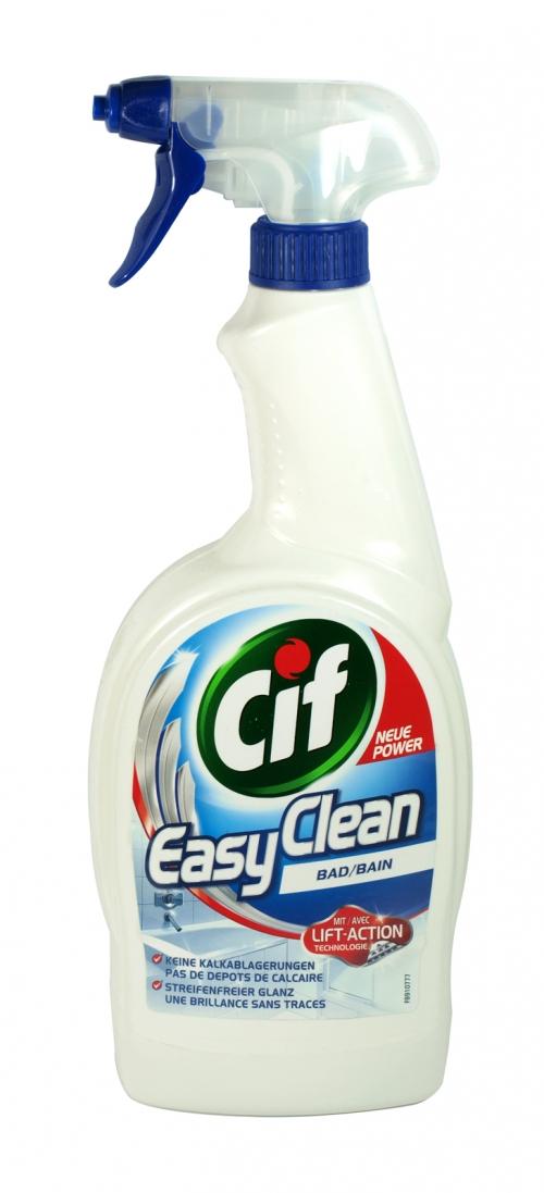 CIF EASY CLEAN 750ML SPRAY BATHROOM X12