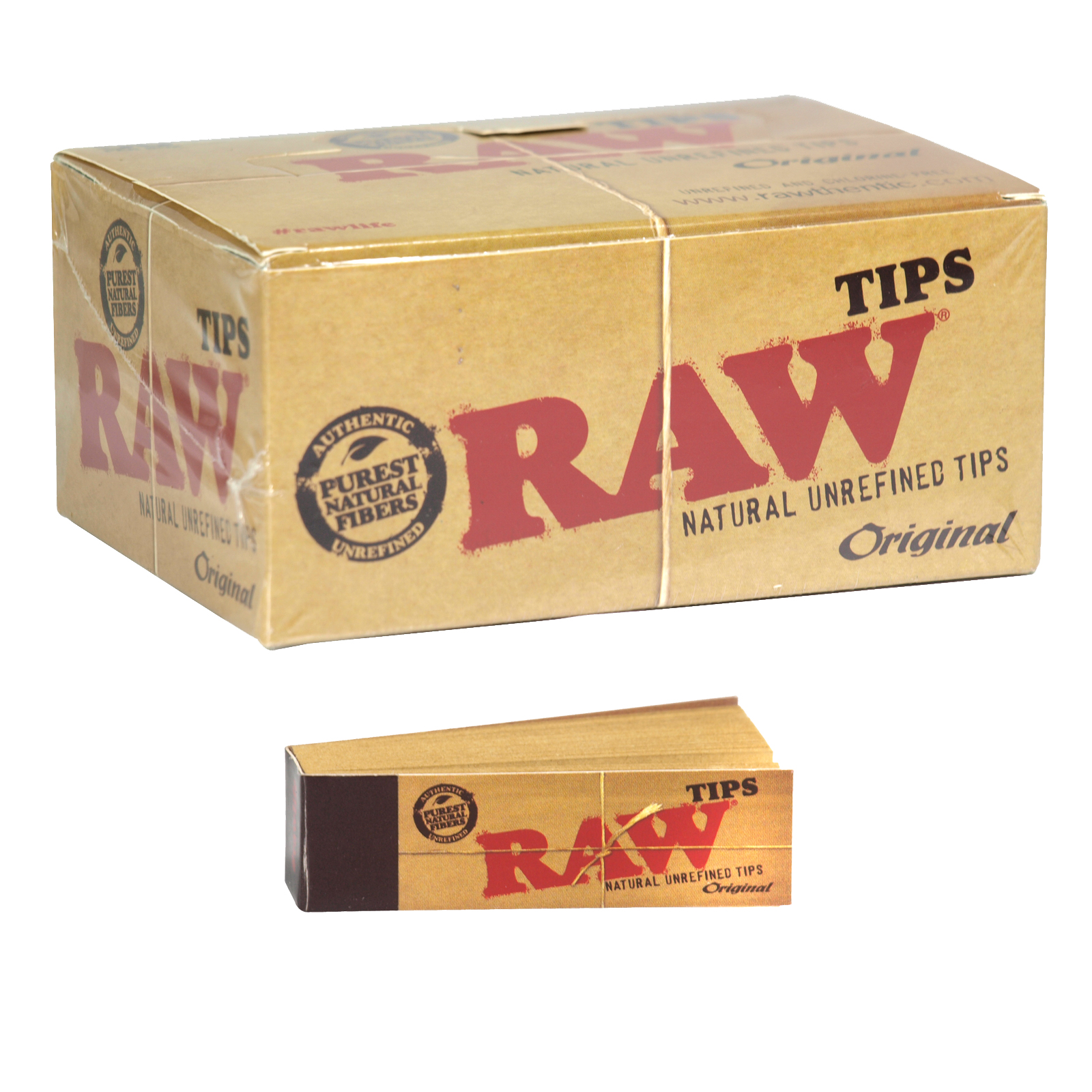 RAW 50 TIPS BOOKLET CHLORINE+CHEMICAL FREE X50