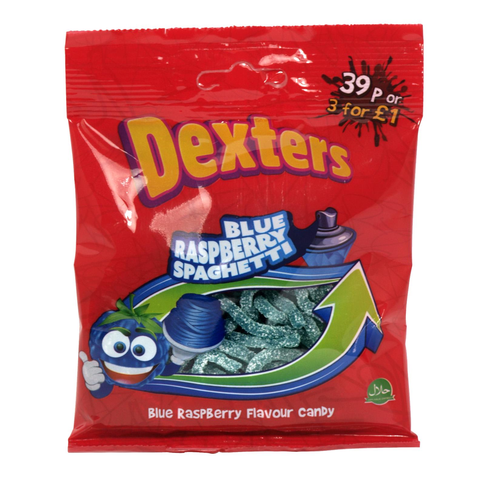 DEXTERS BLUE RASPBERRY SPAGHETTI X12