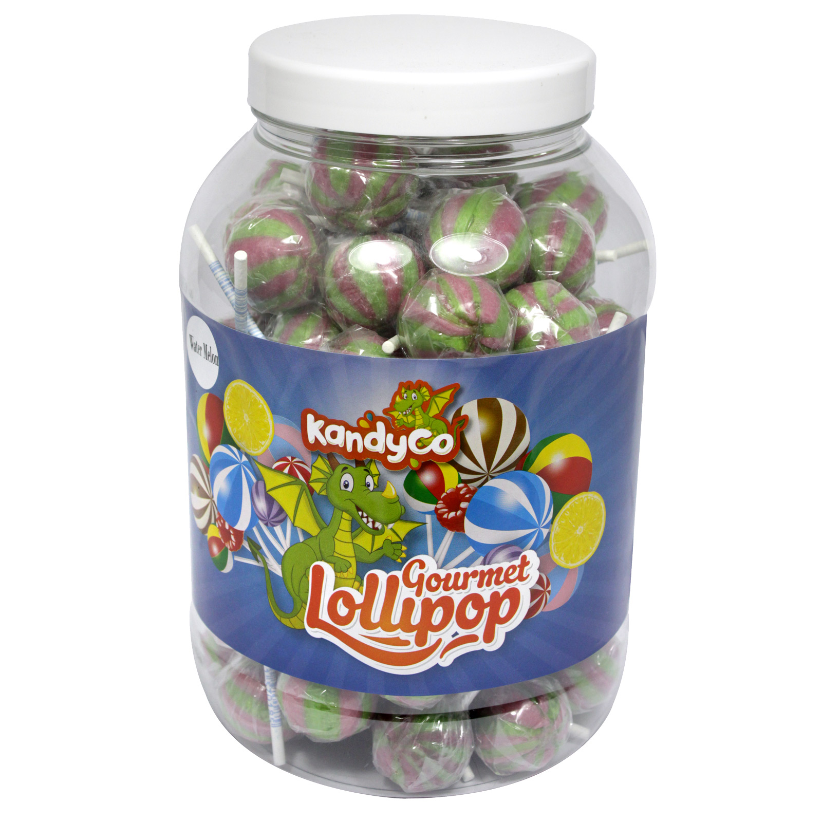 KANDYCO GOURMET LOLLIES WATER MELON X 70 LOLLIES